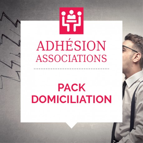 Adhésion Pack Domiciliation (association)