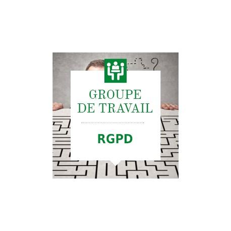 Groupe de travail RGPD