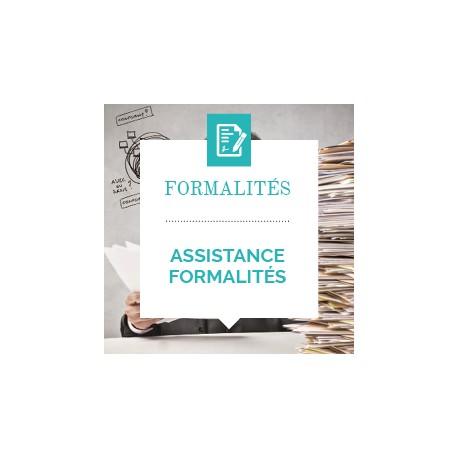 Assistance formalités