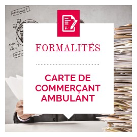 Carte de commerçant ambulant