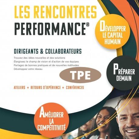 Rencontres Performance Touraine Jeunes Entreprises